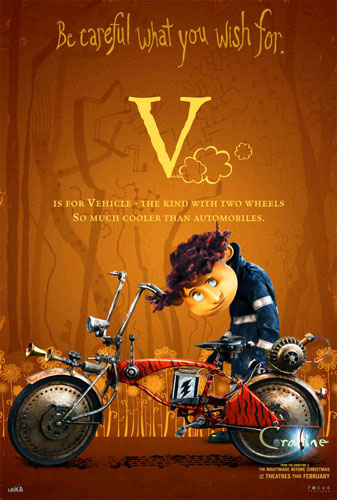 Passion Wallpaper Quote All The Coraline Alphabet Movie Posters Geektyrant