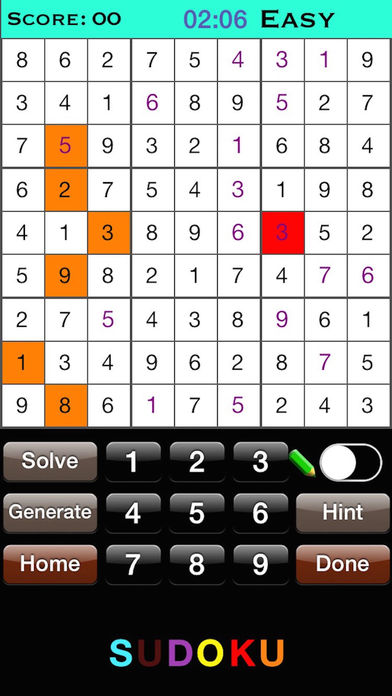 SimplySudoku - Solve Sudoku Puzzles Using OCR