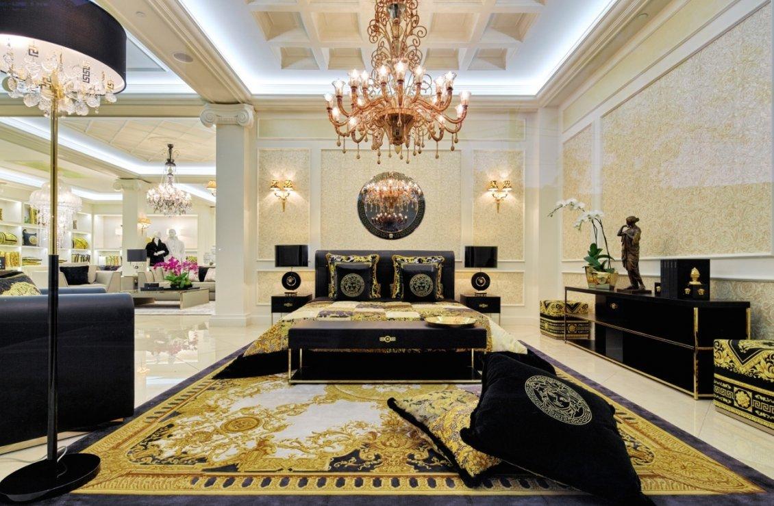 Versace Home Decor Enchanting Living Room ...