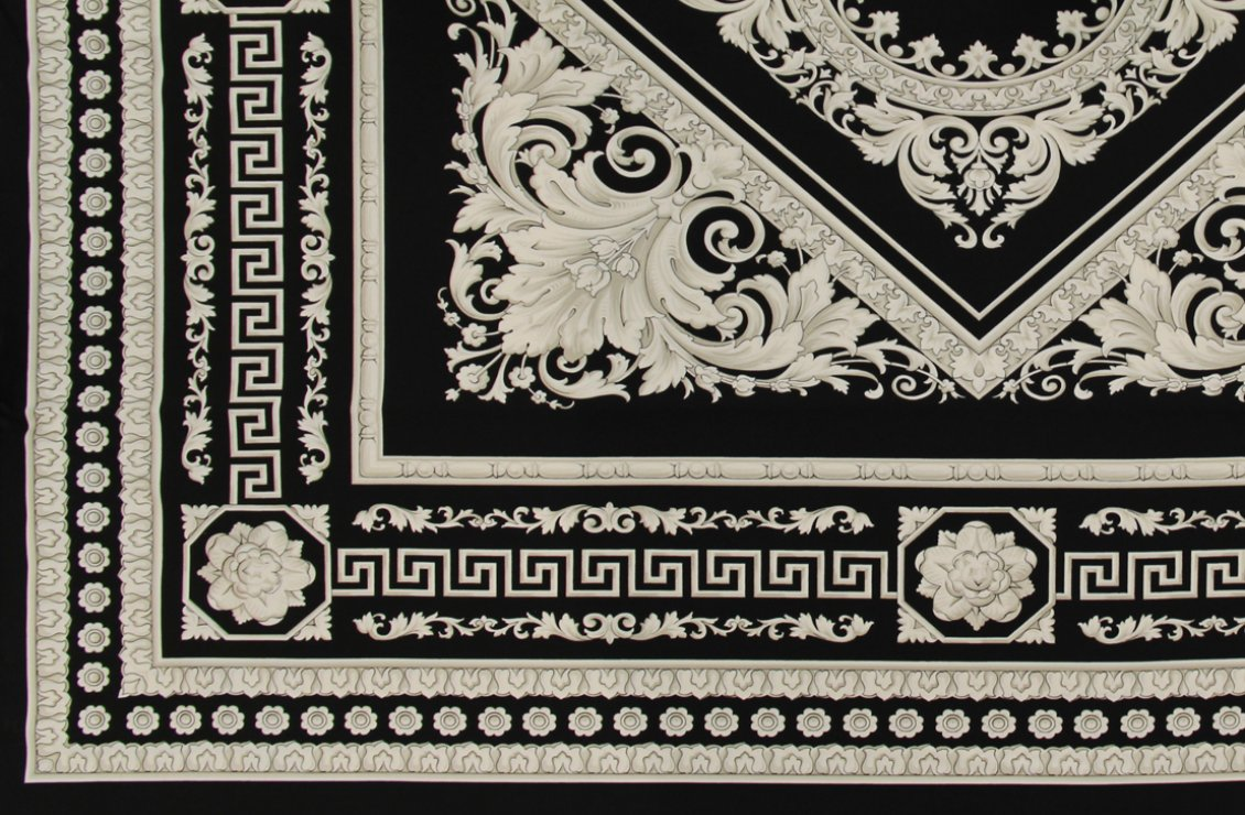 Black And Gold Textured Wallpaper Carre Fabric Panel Versace Home Australia