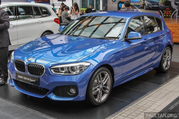 Bmw Car And Bike Wallpaper Bmw 1 Series Facelift Launched 120i M Sport Ckd Rm220k