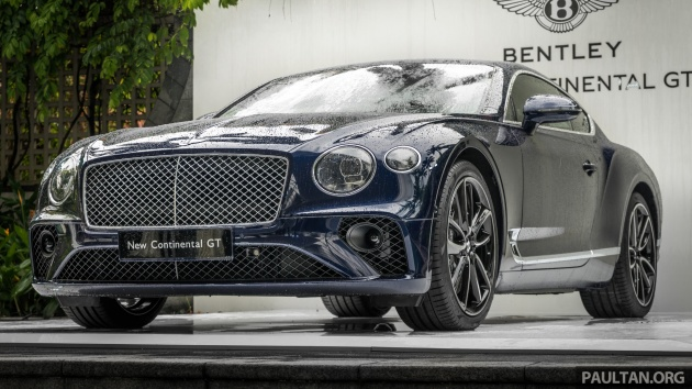 Suv Wallpapers Hd 2018 Bentley Continental Gt Previewed In Singapore