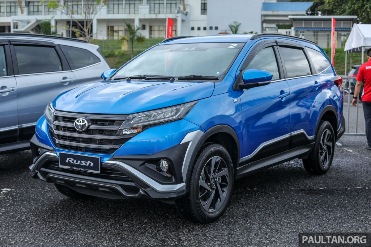 2018 toyota rush launched in malaysia