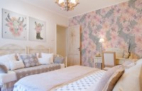 Harmony with the nature  Bedroom - Shabby Chic - Wall ...