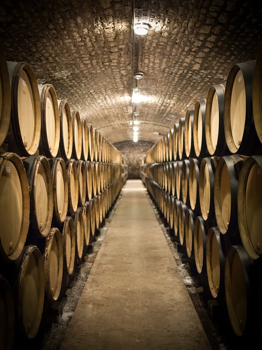 3d Wallpapers For Home Interiors Barrels In Wine Cellar Wall Mural Pixers 174 We Live To