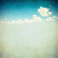 retro image of cloudy sky Wall Mural  Pixers  We live ...