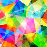 abstract vector background Wall Mural  Pixers  We live ...