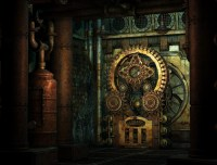 Steampunk Wheelwork Wall Mural  Pixers  We live to change