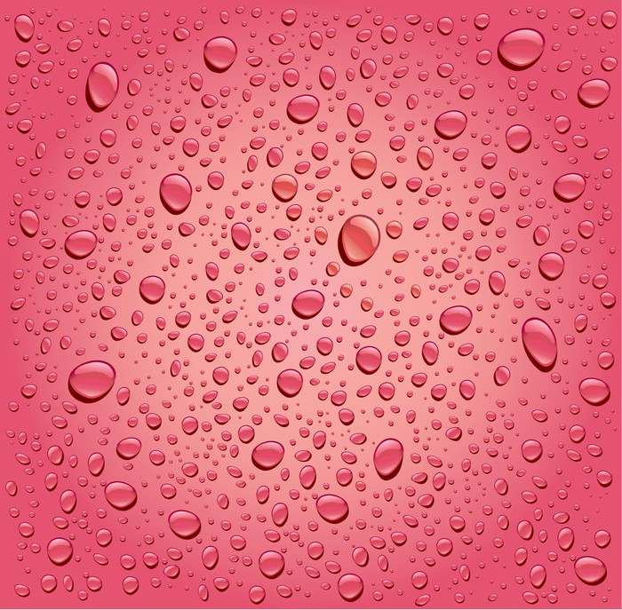 pink rose water droplets background Wall Mural \u2022 Pixers® \u2022 We live - water droplets background