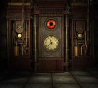 Steampunk Time Wall Mural  Pixers  We live to change