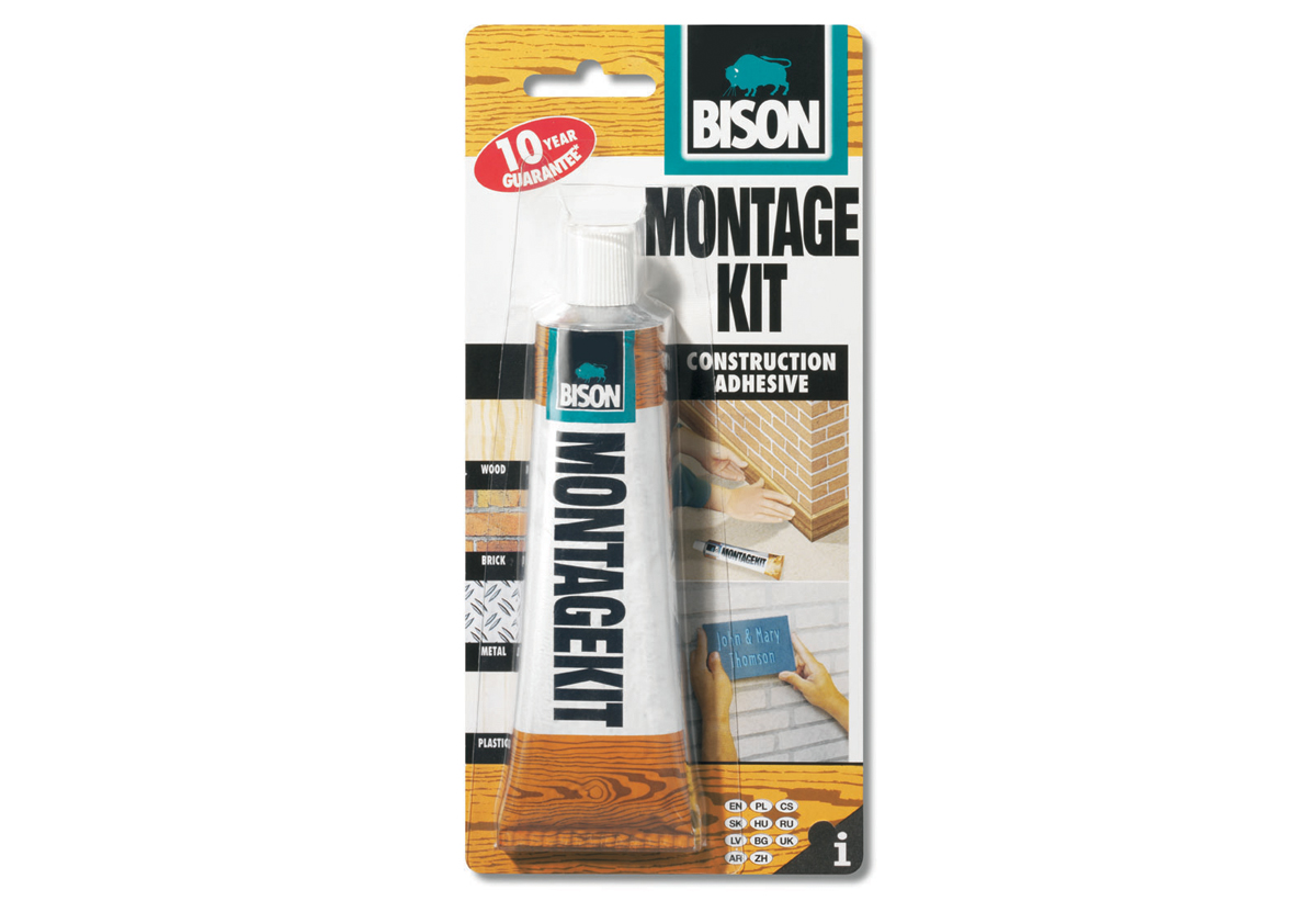 Bison Montagekit Super ΚΟΛΛΑ Montage Kit Bison Super ΙΣΧΥΡΗ 125gr
