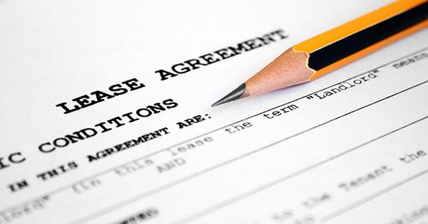 Lease Agreement - Apartment Hunting Real Estate Tips