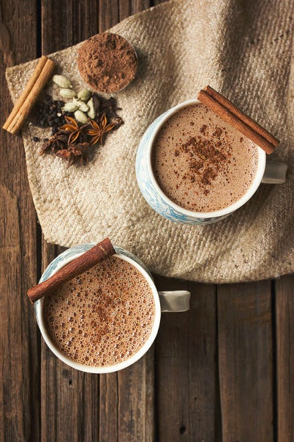 Cute Girl Glasses Wallpaper Hot Chocolate Winter Drink Recipes