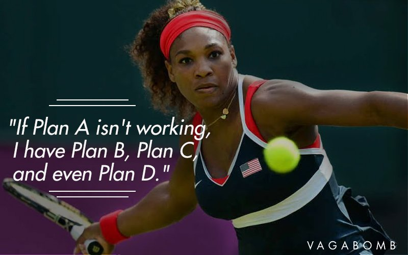 Warrior Quote Wallpapers 14 Powerful Quotes By The Invincible Serena Williams To