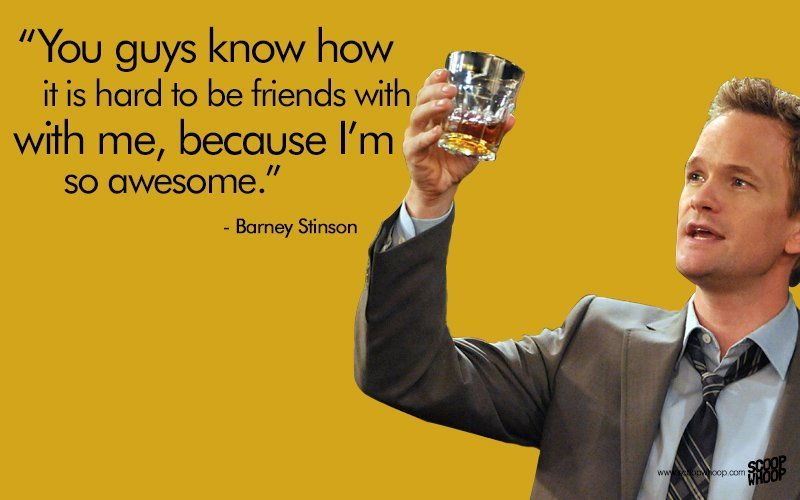 Facebook Quotes In Hindi With Wallpaper 25 Unforgettable Barney Stinson Quotes That Made Himym The