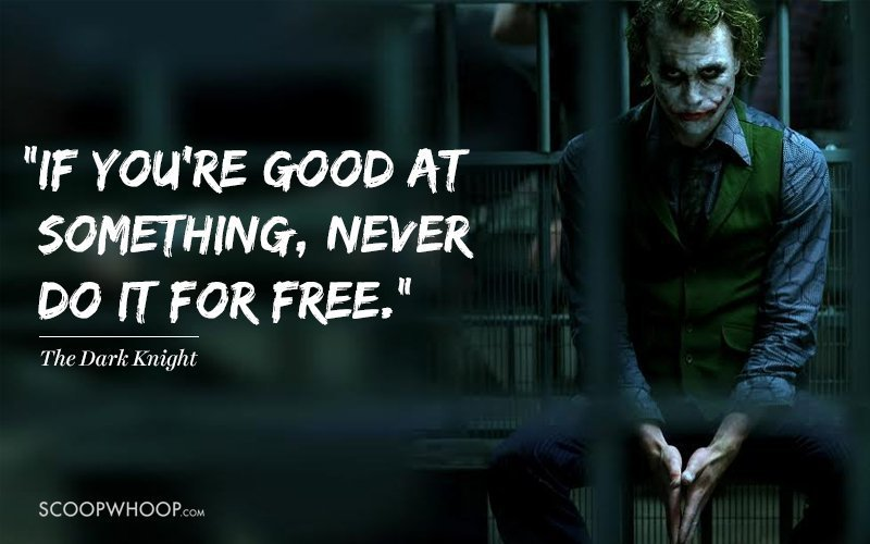 The Dark Knight Joker Quote Wallpaper 15 Iconic Dialogues By Heath Ledger That Will Make You