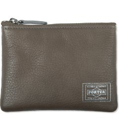 Head Porter Grey Calvi Multi Wallet Picutre