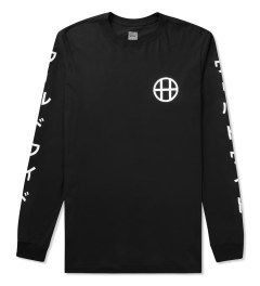 HUF Black Japan Worldwide L/S T-Shirt Picutre