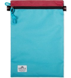 Penfield Red/Teal Delray Zip-Pouch Picutre