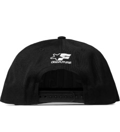 Odd Future Black High Swisher Snapback Cap Model Picutre