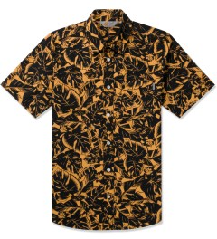 Carhartt WORK IN PROGRESS Corn Lotus Print Rinsed S/S Marlow Shirt Picutre