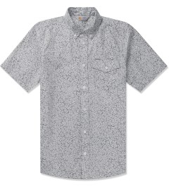 Carhartt WORK IN PROGRESS Eclipse Flora Allover Print S/S Langley Shirt Picutre
