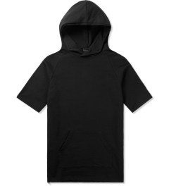 KNYEW Black S/S Hoodie Picutre