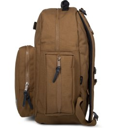 Carhartt WORK IN PROGRESS Hamilton Brown Lewis Backpack Model Picutre