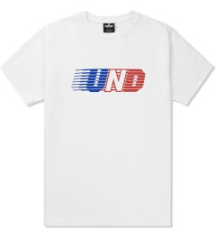 Undefeated White UND Lines T-Shirt Picutre