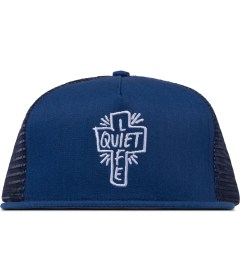 The Quiet Life Blue Heather Sharpie Trucker Cap Picutre