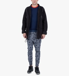 Thing Thing FD Denim Camo The Fake Pants Model Picutre
