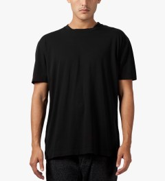 Matthew Miller Black Marshall Zip T-Shirt Model Picutre