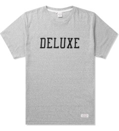 Deluxe Grey Deluxe Logo T-Shirt Picutre
