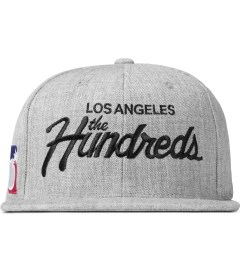 The Hundreds Athletic Heather Forever Team Snapback Cap Picutre