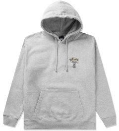 Stussy Heather Grey Camo WT Hoodie Picutre