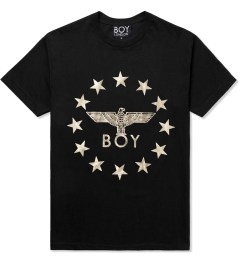 BOY London Black/Gold Boy Globe Star T-Shirt Picutre