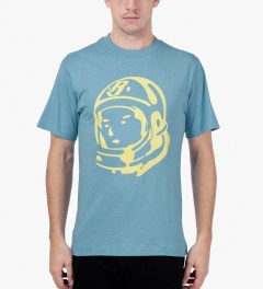 Billionaire Boys Club Dusk Blue/Sunshine S/S Helmet T-Shirt Model Picutre