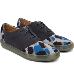 Thorocraft Grey Leopard Davis Shoes Model Picutre