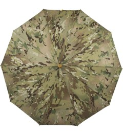 London Undercover Camo Whangee Cane Crook Folded Multicam Camouflage Umbrella Model Picutre