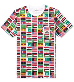 ALIFE Flag Print Allover Terror T-Shirt Picutre