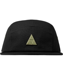 HUF Black Metal Triple Triangle Volley Cap Picutre
