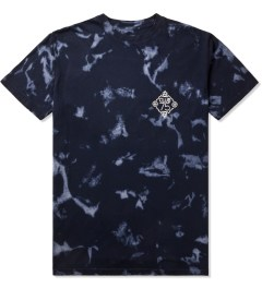 CLUB 75 Navy HUF x Club 75 Bleached Wash T-Shirt Picutre