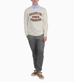 BWGH Beige/Brown Brooklyn Parle FR2 Sweater Model Picutre