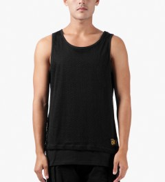 10.Deep Black Rude Boy Tank Top Model Picutre