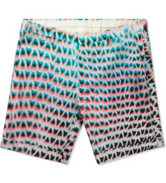 Paul Smith Lightbox Mesh Print Shorts Picutre