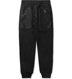 Christopher Raeburn Black/Black Mesh Pocket Jogger Pants Picutre