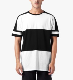 ZANEROBE White Line Back T-Shirt Model Picutre