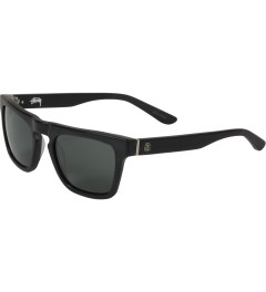 Stussy Matte Black/Black Louie Sunglasses Model Picutre