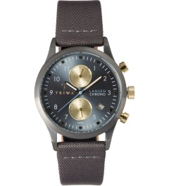 TRIWA Grey Classic Canvas Walter Lansen Chrono Watch Picutre