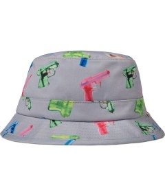 Primitive Grey Soaked Bucket Hat Picutre
